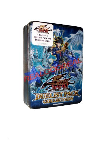 Yugioh 5D's 2009 Duelist Pack Collection Tin w/Blackwing - Shura the Blue - Tin Collection Pack Duelist