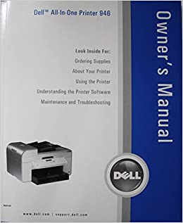 DELL ALL-IN-ONE PRINTER 946 DRIVERS FOR MAC