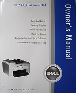 2006 dell all in one printer 946 owner s manual dell amazon com books rh amazon com Dell 946 Printer Driver dell 946 printer manual