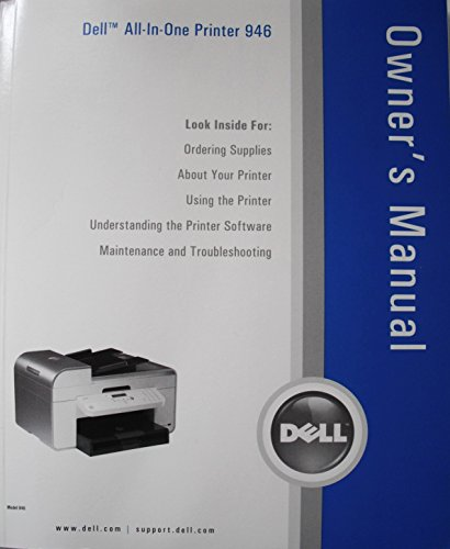 2006 Dell All-in-One Printer 946 Owner's ()