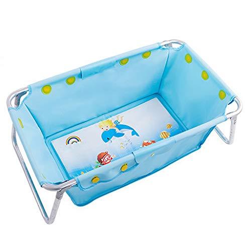 Baño Infantil Bañera Plegable Niños Bañera Plegable Bañera King Baño Piscina para bebés Tela de Nylon extraíble...