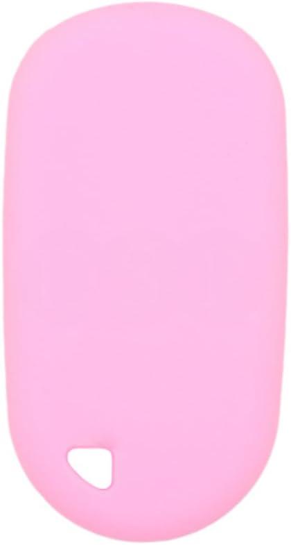 SEGADEN Silicone Cover Protector Case Holder Skin Jacket Compatible with HONDA 2+1 Button Remote Key Fob CV2208 Orange