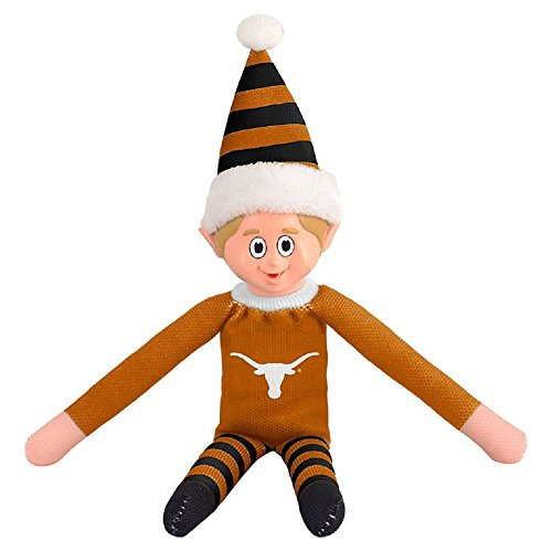 Forever Collectibles Team Elves - Elf on a Shelf - 10 Inches - University of Texas Longhorns