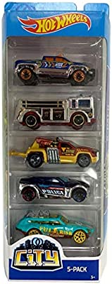 Hot Wheels City 5 Pack Cars (Hot Wheels Sets): Amazon.es: Juguetes y juegos