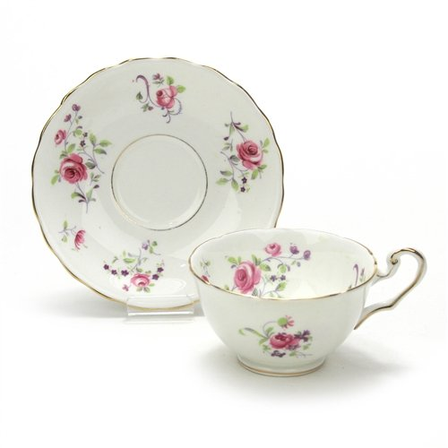 Cup & Saucer by Victoria, China, Pink ()