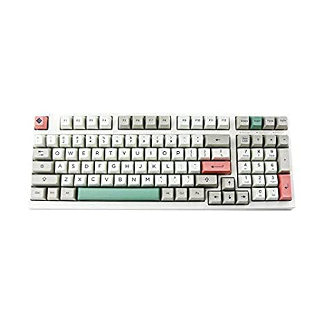 SSSLG SA Retro sublimación Teclado mecánico keycap, 170 Clave ...