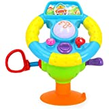 higadget Baby Toys with Music and Lights, Learning and Educational Toys (Little Racer Wheel)