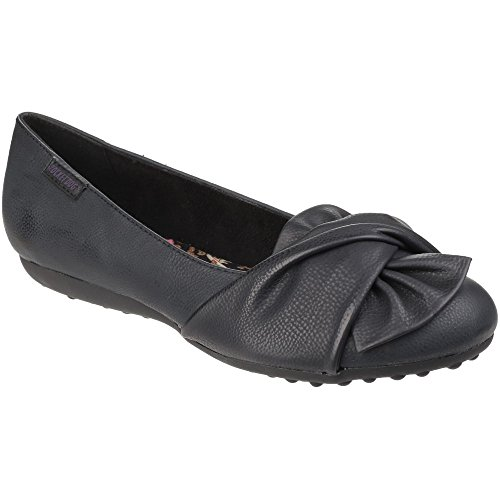 Rocket Dog Womens/Ladies Risky Slip on Casual Ballerina Pump Shoes Black