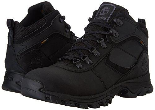 Timberland Mt. Maddsen Hiker Hombre US 10.5 Negro Zapato de Senderismo