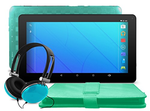 """Ematic EGQ223SKTL 10"""" Quad-Core Tablet with Android 5.1, ..."""