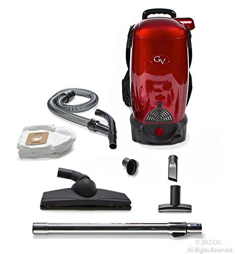 b18b1eb6a50 GV 8 Qt Quart Commercial Pro Cordless Battery Powered HEPA Backpack Back Pack  Vacuum Loaded w 2 yr warranty Lithium Ion by GV  Amazon.co.uk  Kitchen    Home