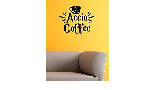 Espresso Patronum Potter inspired kitchen coffee  wall art//sticker//vinyl