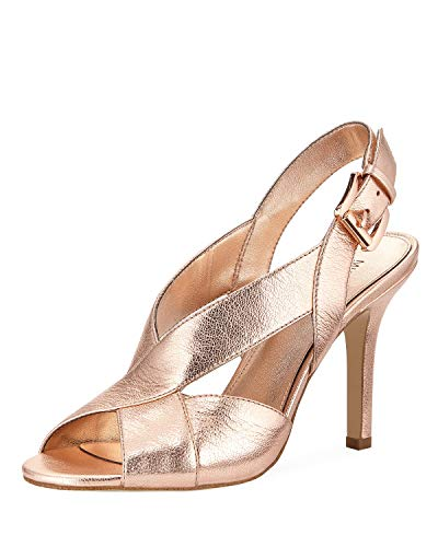Open Toe Sandals Michael Kors (MICHAEL Michael Kors Womens Becky Open Toe Special Occasion, Soft Pink, Size 9.0)