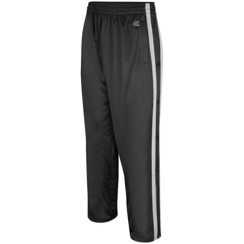 Colosseum Mens Tearaway Athletic Pants (Black/Silver) - XXX-Large ()