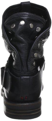 Buffalo London ES 30239 GARDA - Botas biker, color: Marrón (Braun) Negro (Schwarz (PRETO 01))