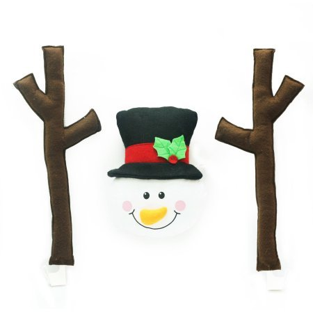 [Holiday Time Christmas Decor Snowman Car Costume] (Wicked Witch Of The West Costume Disney)