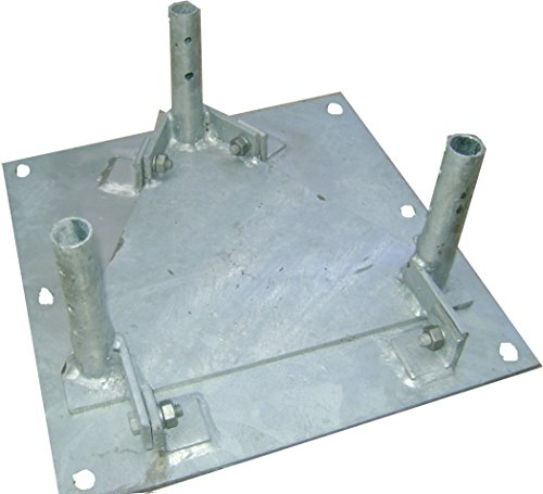 (Rohn Products - BPH25G - 25G hinged base plate)
