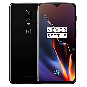 OnePlus 6T A6013 128GB Storage + 8GB Memory, 6.41 inch AMOLED Display, Android 9 – Mirror Black US Version VERIZON + GSM T-Mobile Unlocked Phone (Renewed)