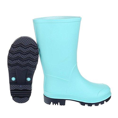 En Pour Gst Pluie Caoutchouc De k130p 49 Design Ital Chaussures Bottes Hellblau Enfants 8zptwFqXx
