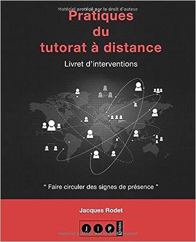Vignette document Pratiques du tutorat à distance : livret d'interventions