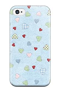 Tpu Fashionable Design Cute Rugged Case Cover For Iphone 4/4s New