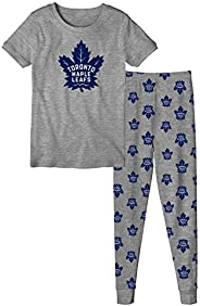 Toronto Maple Leafs Youth Short Sleeve T-Shirt & Pants Sleep