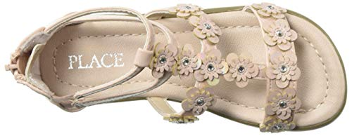 The Children's Place Girls' Sandal, Pink, Youth 5 by The Children's Place (Image #7)