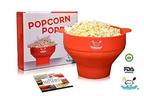 popcorn pot with lid - 4