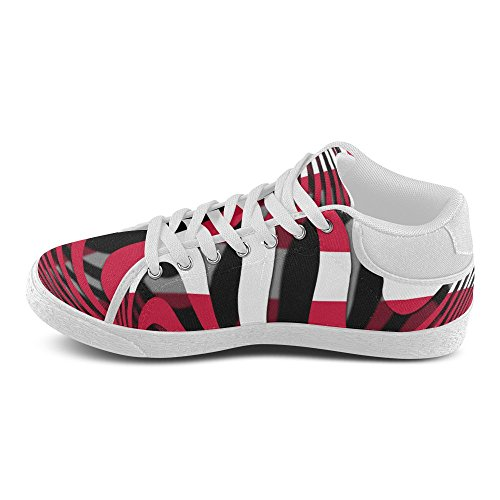 InterestPrint The Flag of Denmark Chukka Sneakers Women Canvas Shoes eooDsw