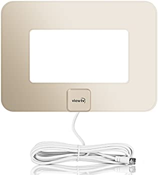 ViewTV Flat Amplified 80-Mile HD Digital TV Antenna