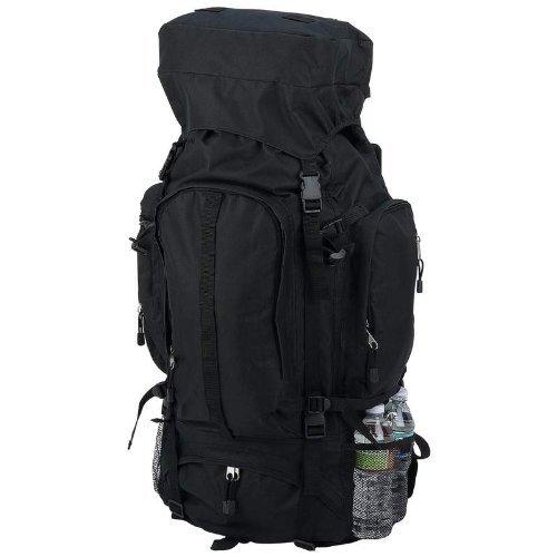 Black Water Repellent Mountaineer 's Backpack, Outdoor Stuffs