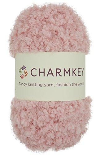 Charmkey Soft Fur Yarn Super Fluffy 5 Chunky