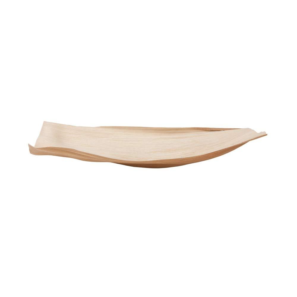 BIOZOYG 5X Hojas de Palmera para decoración | bandejas para Pica Pica | 100% Naturales | sin Tratar | biodegradables, compostables | Textura y Forma ...