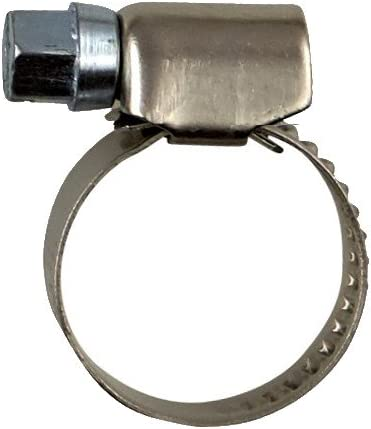 Spannbereich /Ø 10-260-mm NietFullThings Schlauchschellen mit Schneckenantrieb aus Edelstahl Bandbreite 9-12-mm Rostfrei Schlauch-Binder Schlauch-Klemmen Schraub-Schellen Bandschelle DIN-3017