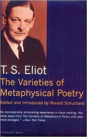 t.s. eliot essay metaphysical poets