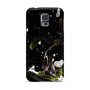 Excellent Hard Phone Cover For Samsung Galaxy S5 (Rfx17073wuTH) Customized High Resolution Rise Against Image