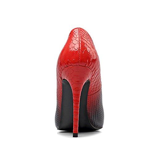 EU Bas Rouge 42 Noir Femme Noir 171219001 Amy Q qCxZ8wxB