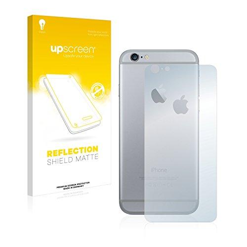 upscreen Scratch Shield Pellicola Protettiva Opaca Apple iPhone 6S Plus Posteriore (totale + LogoCut) Protezione Schermo – Antiriflesso, Anti-Impronte