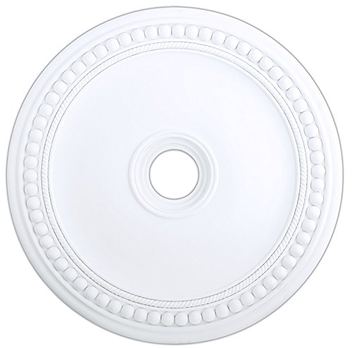 Livex Lighting 82076-03 Wingate Ceiling Medallion, White by Livex Lighting