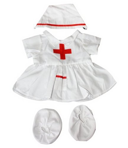 Nurse outfit Teddy Bear Clothes Fit 14
