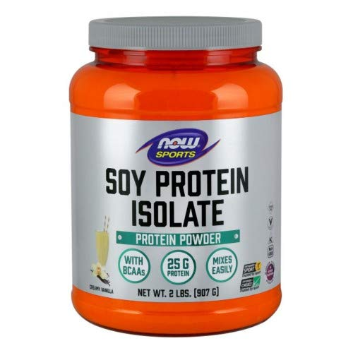 Now Foods Soy Protein Isolate (Natural Vanilla) - 2 lbs. 2 Pack