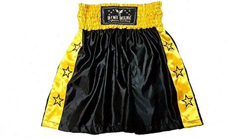 Hawk Professional Boxing Shorts Trunks Kick Boxing Shorts MMA Muay Thai Shorts, 1 YEAR WARRANTY!!!