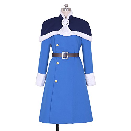 Laxus Costume Cosplay (CG Costume Women's Fairy Tail Juvia Lockser Dress Costume Cosplay)