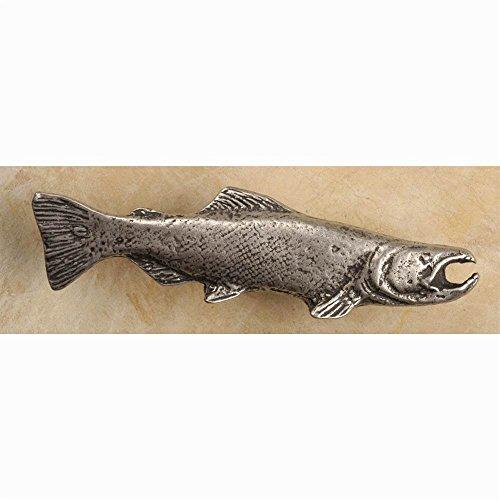 Salmon-rt knob (Set of 10) (Satin Pearl) ()