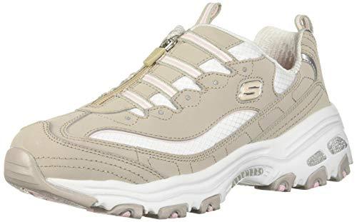Skechers Womens DLites-Zip Along Sneaker
