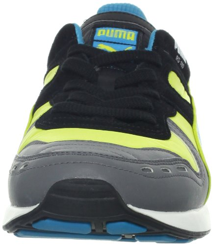 Puma - - Herren 100 Rupien Ll Schuhe Fluro Yellow/Steel Gray/Hawaii