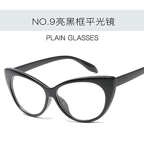 de Vintage de mujer Gafas C4 Ojo de moda Tonos sol Gato UV400 femenina sexy C9 ZHANGYUSEN gafas de Retro gafas wxI0OIqA8