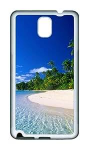 Samsung Note 3 Case,VUTTOO Stylish A Random Beach In Thailand Soft Case For Samsung Galaxy Note 3 / N9000 / Note3 - TPU White