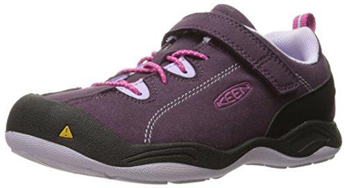KEEN Jasper Sneaker (Toddler/Little Kid), Plum/Lilac Pastel, 8 M US - Jasper Plum