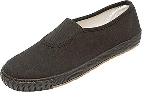 Schule Uniform Gummizug Plimsolls Gym Schuhe